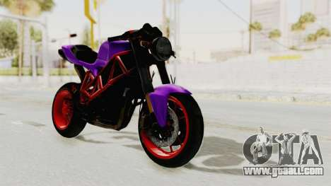 Ducati 1098 Nakedbike for GTA San Andreas