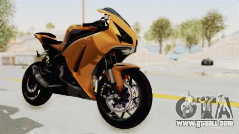 Honda CBR1000RR High Modif for GTA San Andreas