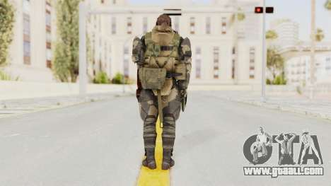 MGSV Phantom Pain Venom Snake Battle Dress for GTA San Andreas third screenshot