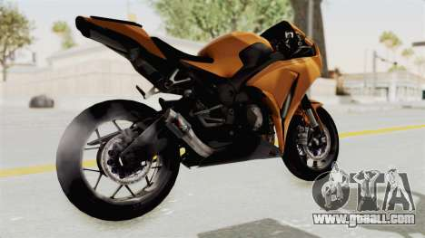 Honda CBR1000RR High Modif for GTA San Andreas right view