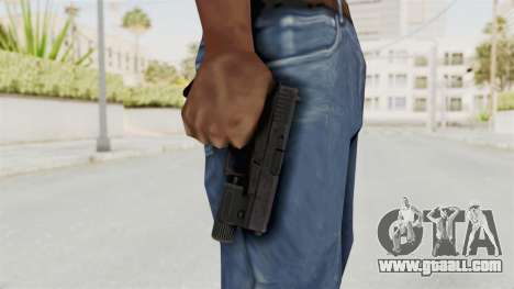 Glock 19 Gen4 Flashlight for GTA San Andreas