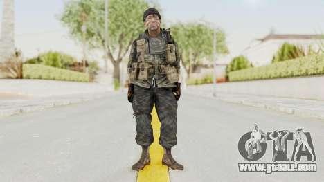 COD BO USA Soldier Ubase for GTA San Andreas second screenshot