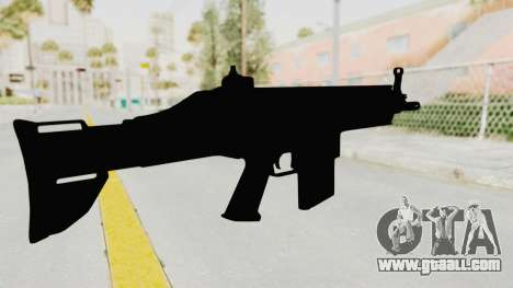 SCAR H for GTA San Andreas third screenshot