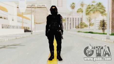 Captain America Civil War - Winter Soldier for GTA San Andreas second screenshot