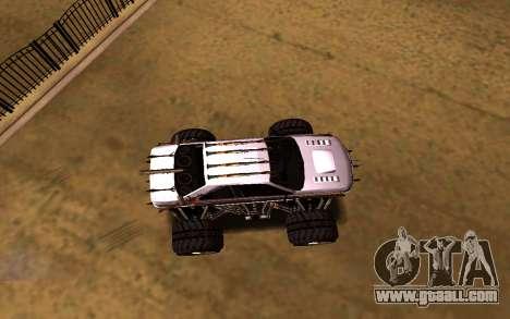 Peugeot Persia Full Sport Monster for GTA San Andreas right view