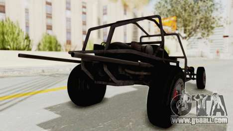 GTA 5 Space Docker No Specular IVF for GTA San Andreas back left view