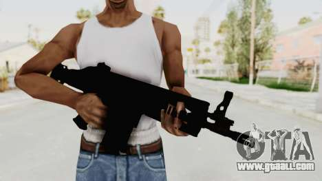 SCAR H for GTA San Andreas