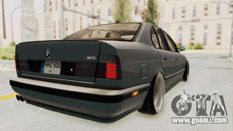 BMW M5 E34 USA for GTA San Andreas left view