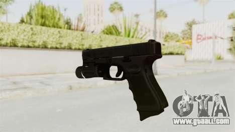 Glock 19 Gen4 Flashlight for GTA San Andreas third screenshot