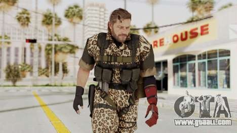 MGSV The Phantom Pain Venom Snake No Eyepatch v8 for GTA San Andreas