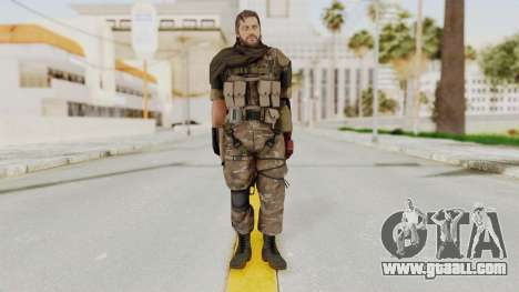 MGSV The Phantom Pain Venom Snake Sc No Patch v9 for GTA San Andreas second screenshot