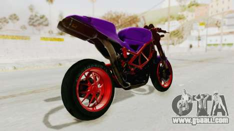 Ducati 1098 Nakedbike for GTA San Andreas left view