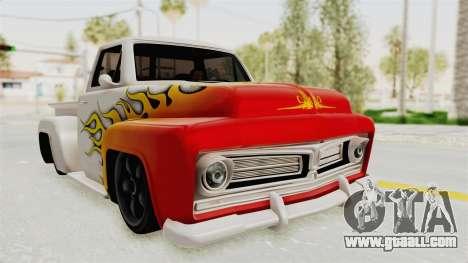 GTA 5 Slamvan Stock PJ1 for GTA San Andreas side view