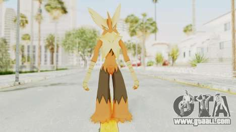 Mega Blaziken Shiny for GTA San Andreas second screenshot