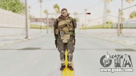 MGSV Phantom Pain Venom Snake Battle Dress for GTA San Andreas second screenshot