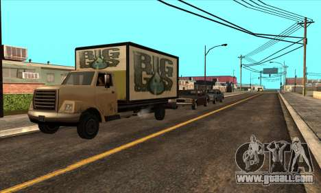 Updated traffic for GTA San Andreas