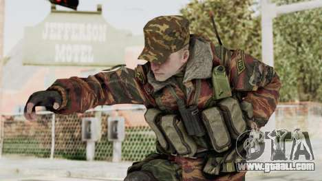 Battery Online Russian Soldier 10 v1 for GTA San Andreas