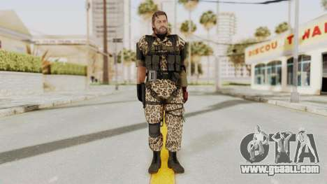 MGSV The Phantom Pain Venom Snake No Eyepatch v8 for GTA San Andreas second screenshot
