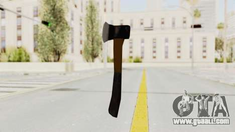Liberty City Stories Handaxe for GTA San Andreas third screenshot