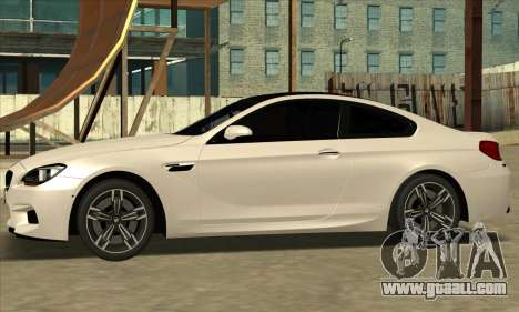 BMW M6 F13 Coupe for GTA San Andreas right view