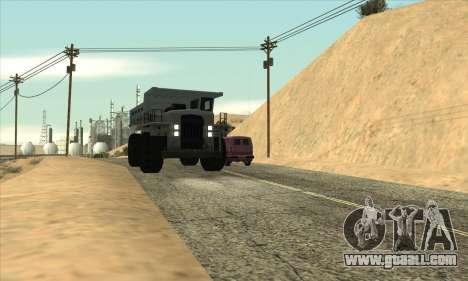 Updated traffic for GTA San Andreas third screenshot