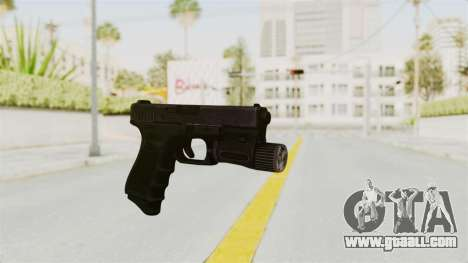 Glock 19 Gen4 Flashlight for GTA San Andreas second screenshot