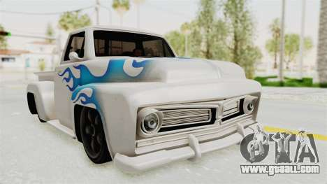 GTA 5 Slamvan Stock PJ1 for GTA San Andreas
