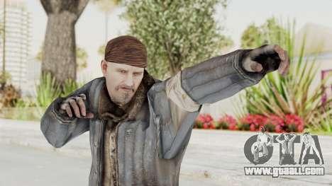 COD BO Reznov Vorkuta for GTA San Andreas