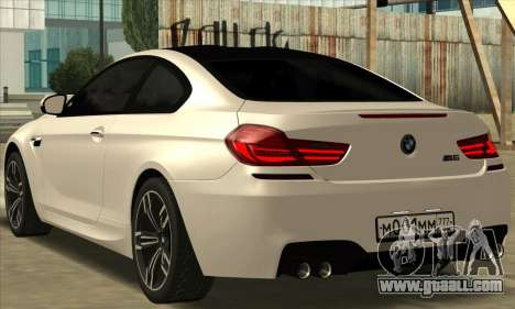 BMW M6 F13 Coupe for GTA San Andreas left view