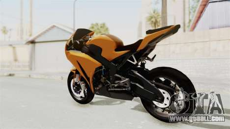 Honda CBR1000RR High Modif for GTA San Andreas left view