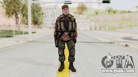 Battery Online Russian Soldier 10 v1 for GTA San Andreas second screenshot