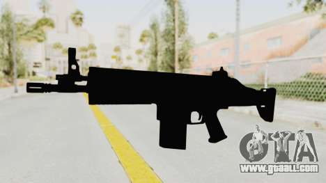 SCAR H for GTA San Andreas second screenshot