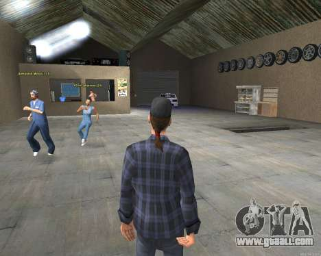The interior of STO San Fierro v2.0 for GTA San Andreas third screenshot