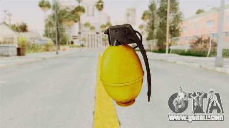 Grenade Gold for GTA San Andreas second screenshot