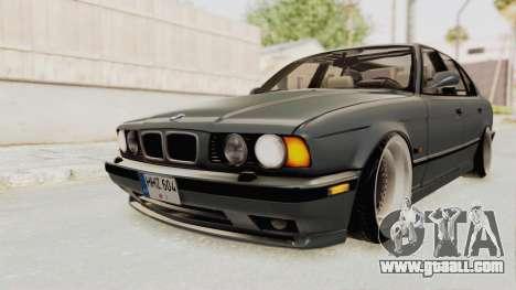 BMW M5 E34 USA for GTA San Andreas right view