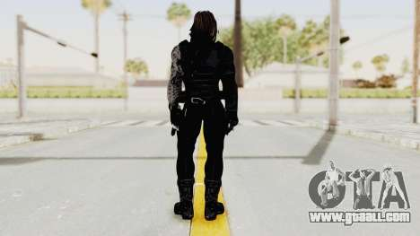 Captain America Civil War - Winter Soldier for GTA San Andreas third screenshot