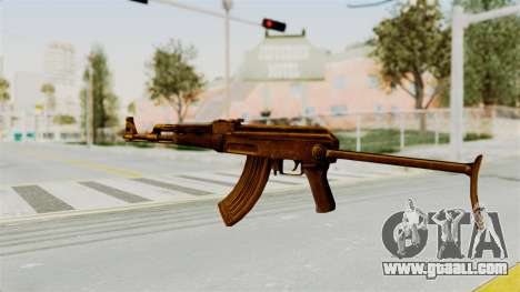 AK-47S Gold for GTA San Andreas second screenshot