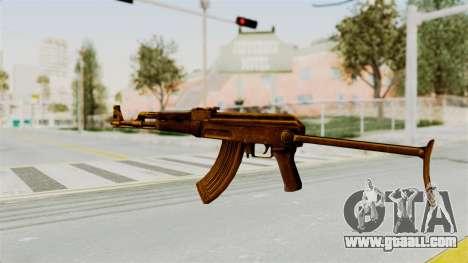 AK-47S Gold for GTA San Andreas second screenshot