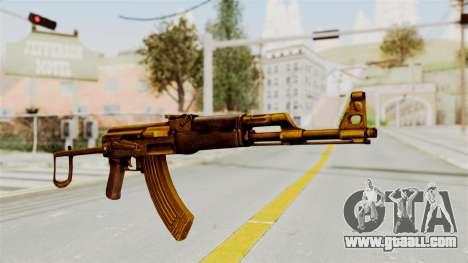AK-47S Gold for GTA San Andreas