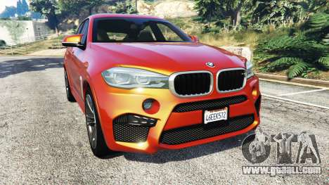 BMW X6 M (F16) v1.6 for GTA 5
