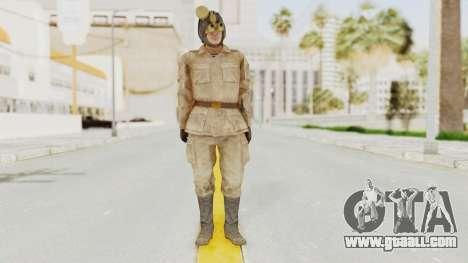 MGSV The Phantom Pain Soviet Union Radioman NVG for GTA San Andreas second screenshot