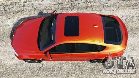 GTA 5 BMW X6 M (F16) v1.6 back view