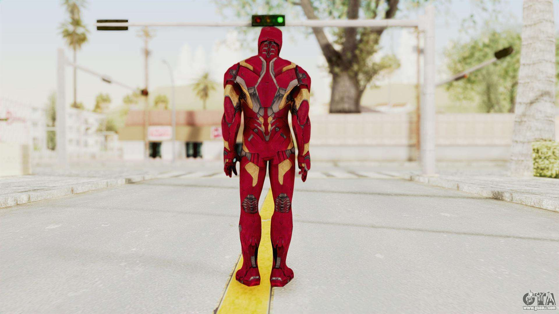 how to fly iron man in gta san andreas