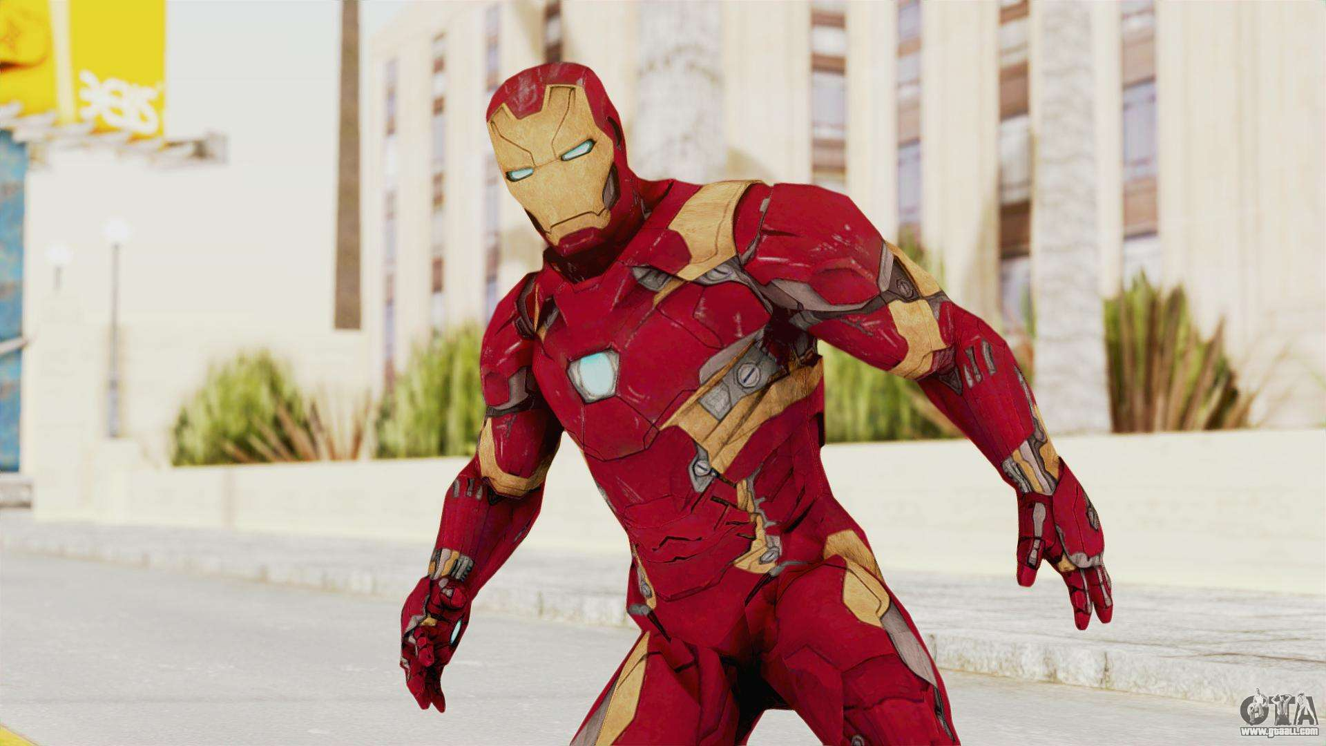 Iron Man Mark 46 for GTA San Andreas