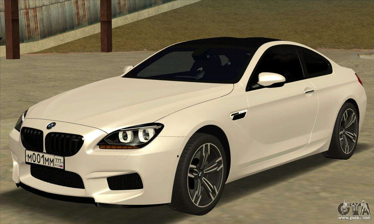 bmw m6 f13 coupe for gta san andreas. Black Bedroom Furniture Sets. Home Design Ideas