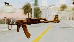 AK-47S Gold for GTA San Andreas