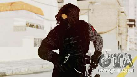 Captain America Civil War - Winter Soldier for GTA San Andreas