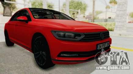 Volkswagen Passat B8 2016 Highline HQLM for GTA San Andreas