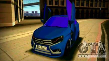 Lada Vesta Lambo for GTA San Andreas