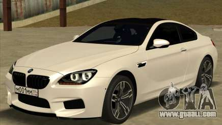 BMW M6 F13 Coupe for GTA San Andreas